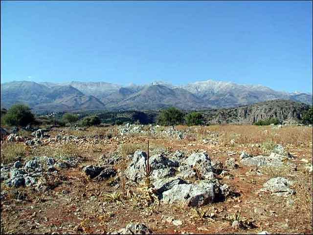 Building plots in Neo Chorio (New Village) CLICK TO ENLARGE