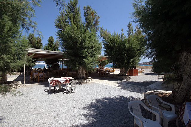 Paradise Tavern - Restaurant is next to the see and next to the church of panagia kamariani CLICK TO ENLARGE
