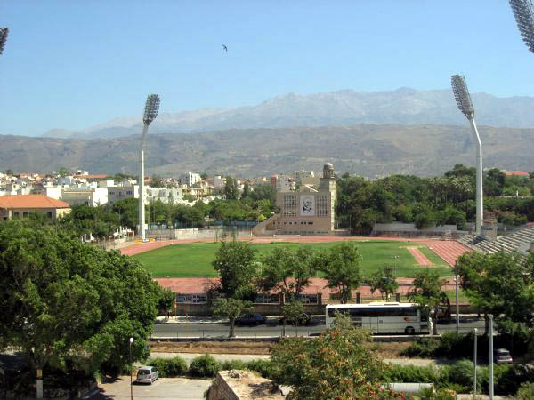 View of Venizelos national stadium CLICK TO ENLARGE