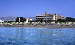 TYLISSOS BEACH HOTEL IN  City beachroad Ierapetra toSitia
