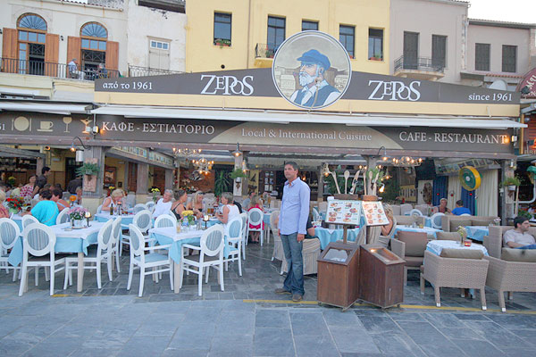 Zepos restaurant Restaurants in Chania Crete Greece