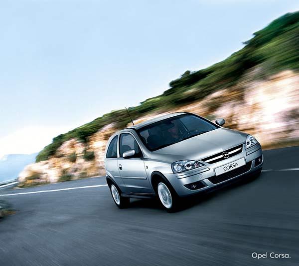 Opel Corsa 1200cc - 5 Doors - Air condicioner CLICK TO ENLARGE
