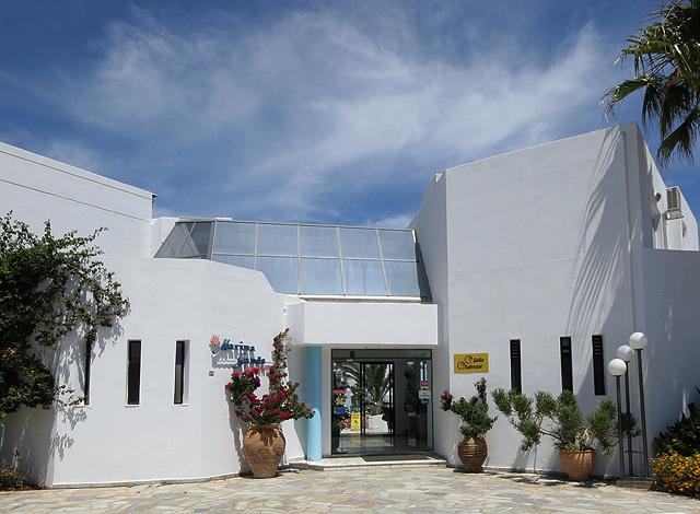 The room of Marina sands beach Hotel - Agia Marina - Hania - Crete CLICK TO ENLARGE