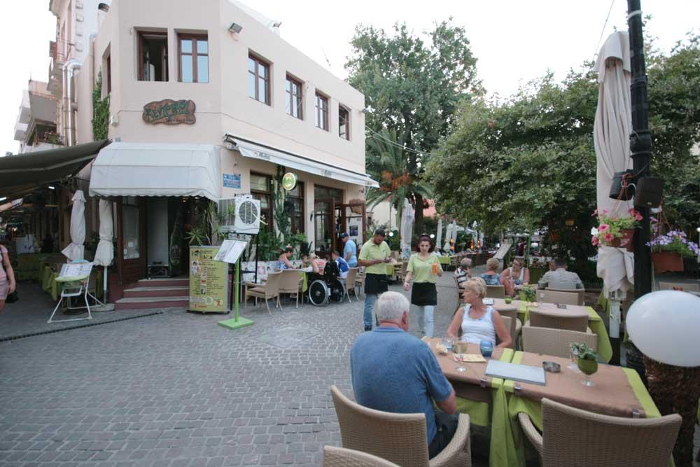 Kentrikon Cafe picture of inside CLICK TO ENLARGE