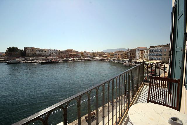 The view of the balcony of Amphora Hotel CLICK TO ENLARGE